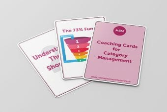 Coaching Cards, Category Management