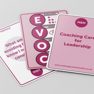 Leadership Coaching Cards