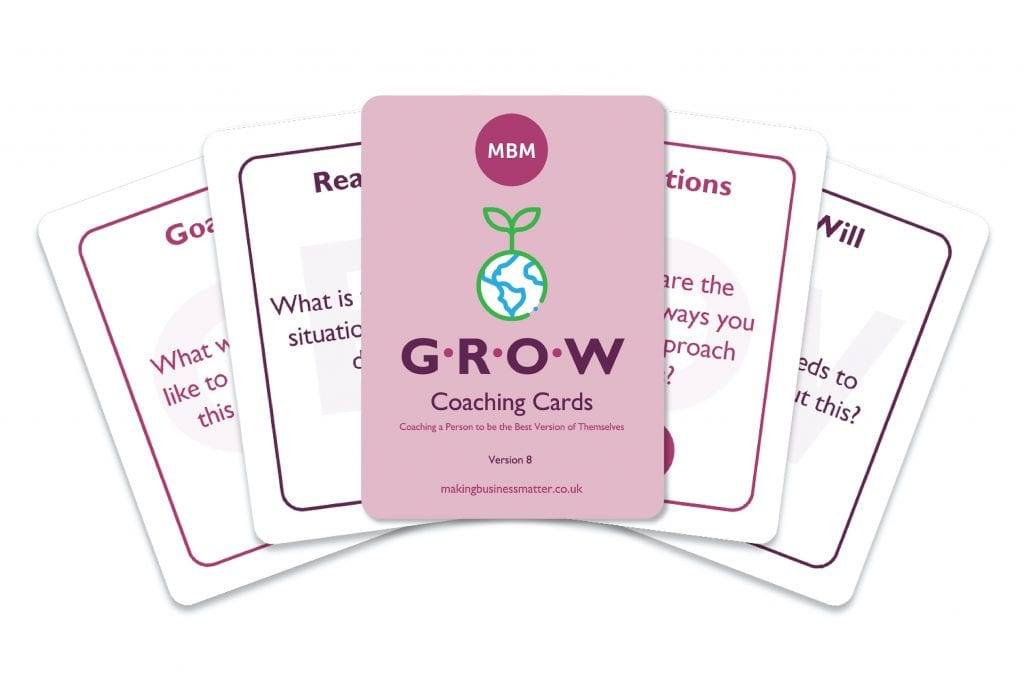 GROW Coaching Cards