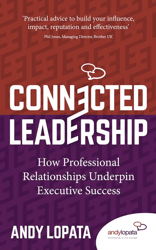 Connected Leadership by Andy Lopata, Book Cover