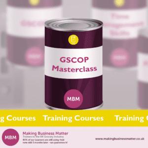 GSCOP Masterclasss can