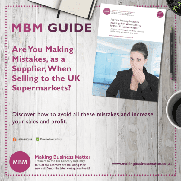 MBM Guide to Supplier Selling