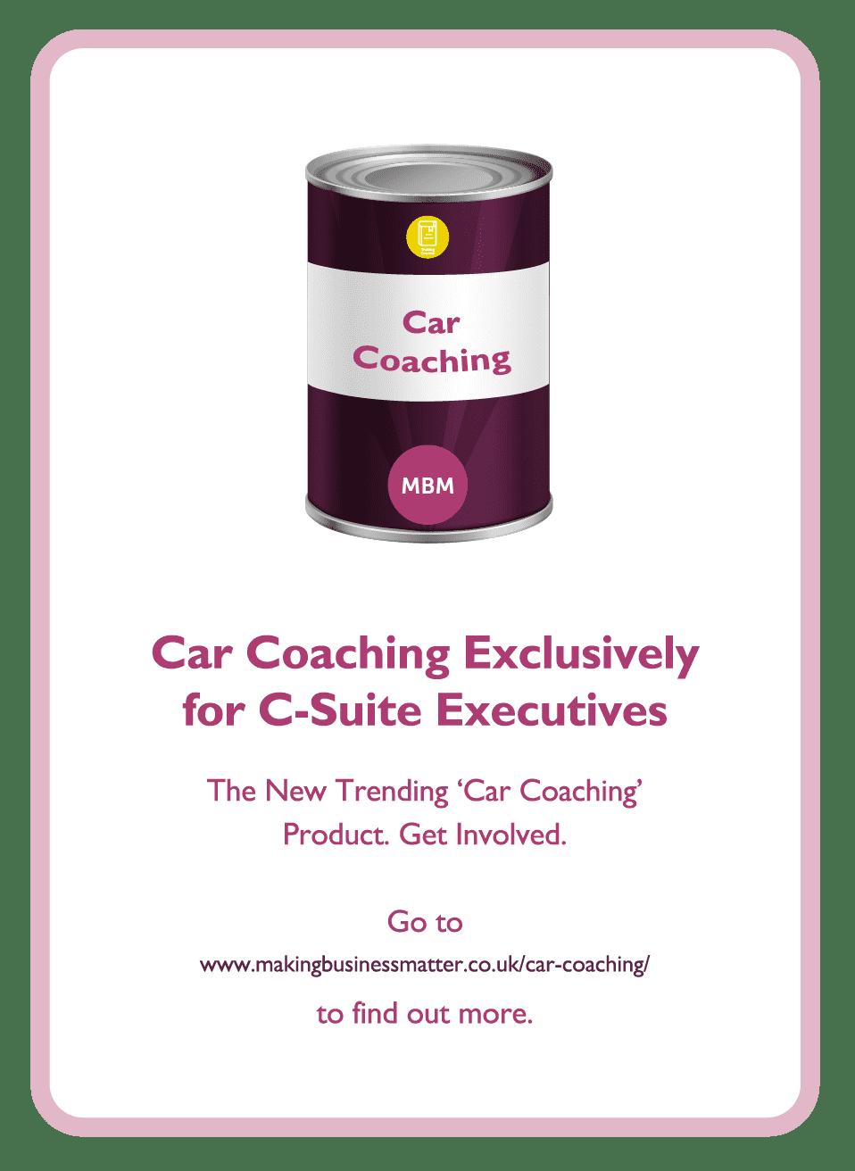 Negotiation coaching card titled Car Coaching