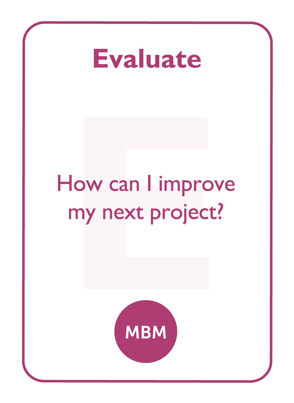 Negotiation coaching card titled Evaluate
