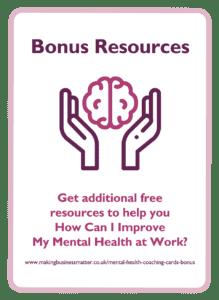 Bonus Resources