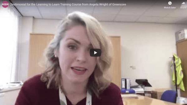 Testimonial from Angela Wright