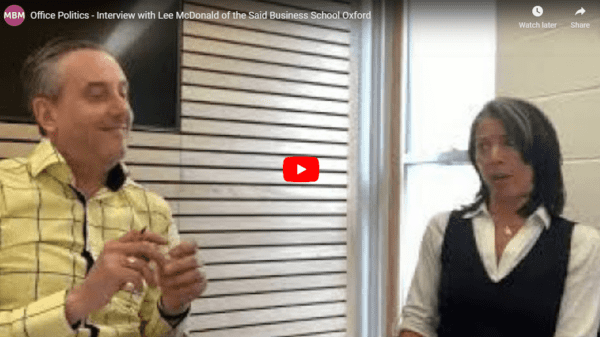 Interview between Darren A. Smith and Lee McDonald- Office Politics