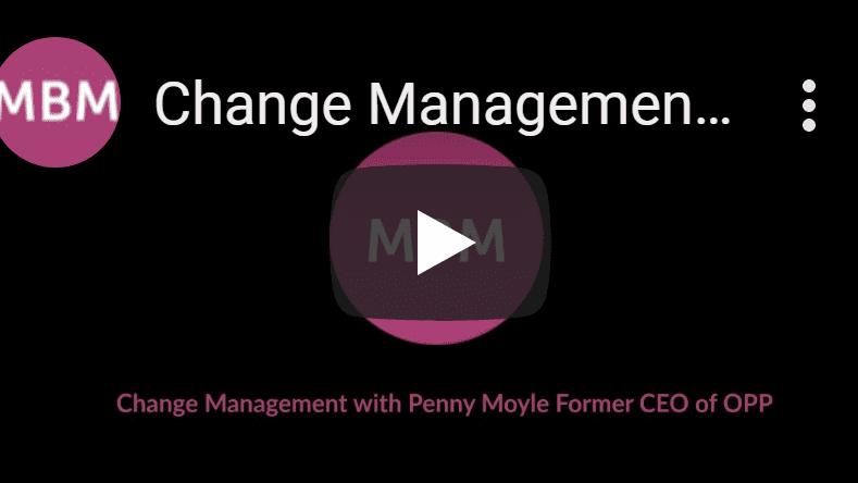 Screenshot of MBM Youtube video on Change Management