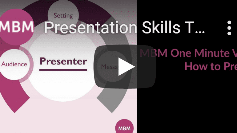 Presentation Skills vid