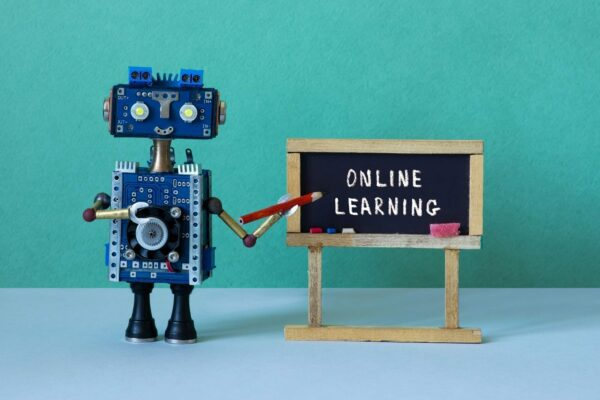 Online learning and distance education concept, Custom eLearning Solutions