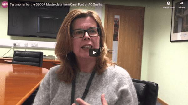 GSCOP testimonial Carol Ford