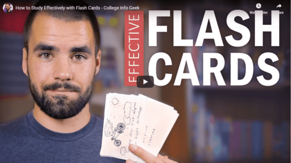 How to Study Effectively with Flash Cards
