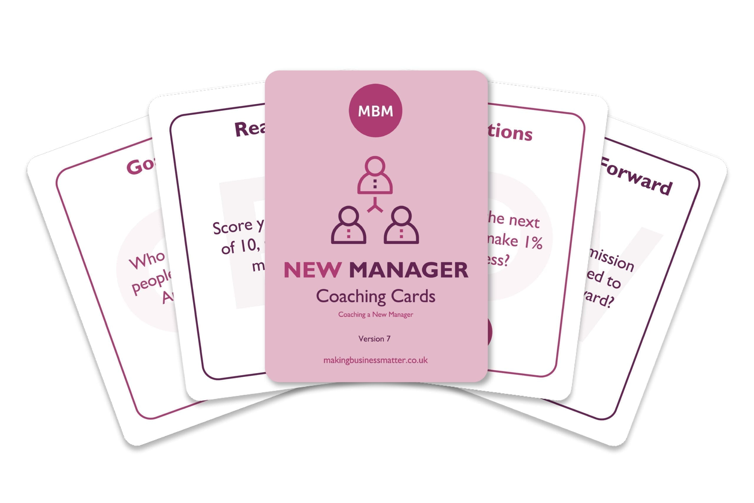 New Manager Coaching Cards