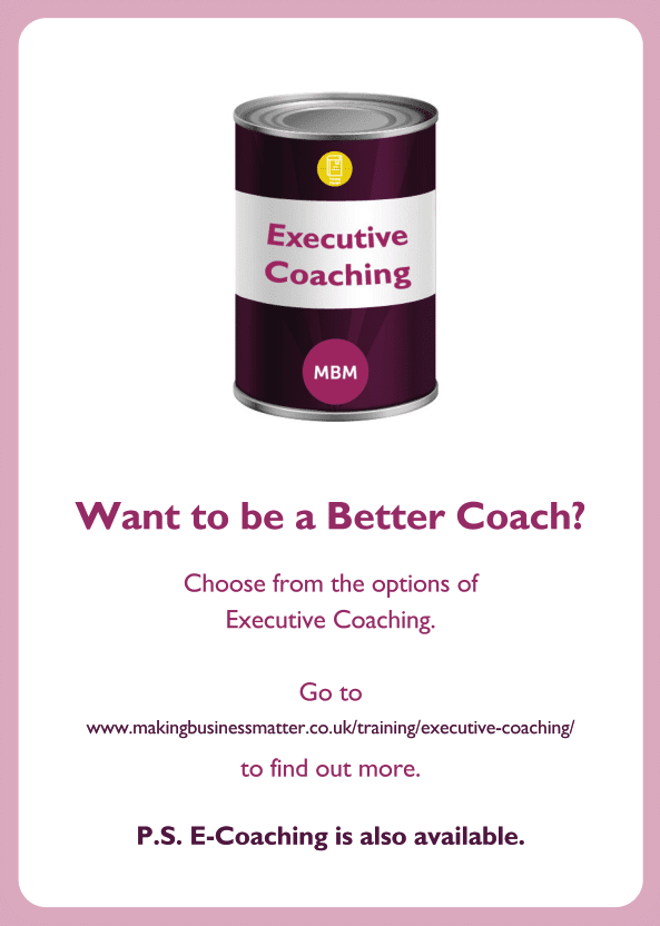 New Manager coaching card titled Better coach