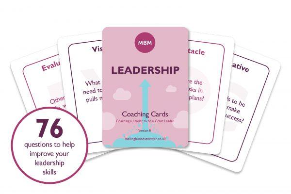 Leadership Coaching Cards Image