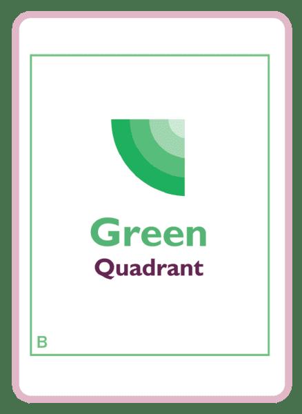 The Green quadrant