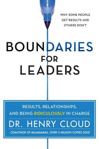 Boundaries for Leaders Book Cover by Henry Cloud