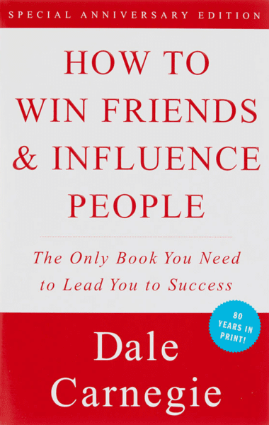 Front cover of How to Win Friends & Influence People book