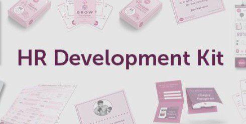 MBM banner with words HR Development Kit written in centre