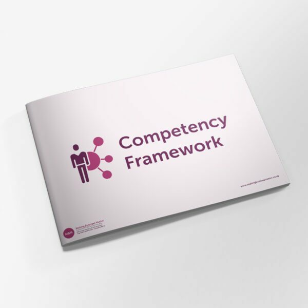 Booklet front cover titled Competency Framework