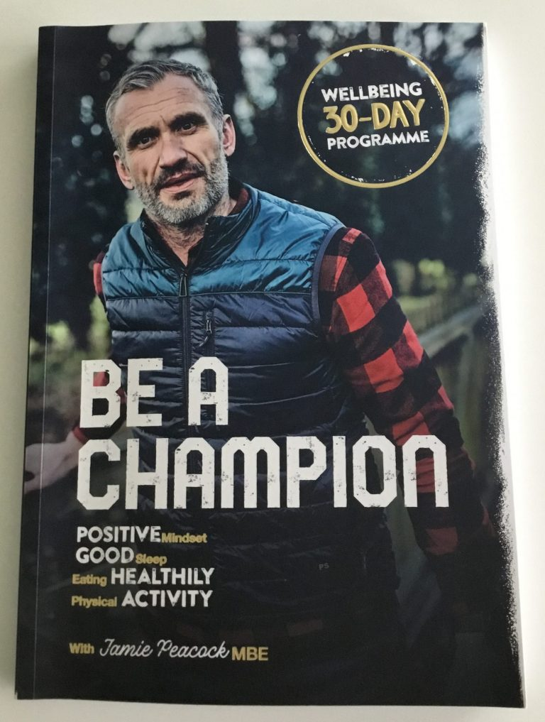 Book cover, Be A Champion, Jamie Peacock