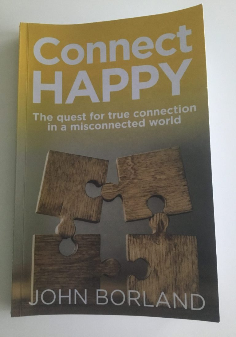 Book Cover of Connect Happy by John Borland
