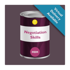 Negotiation Skills Can Image