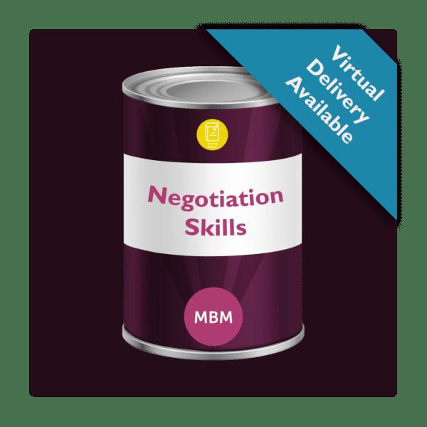 Soft skills training tin for negotiation skills
