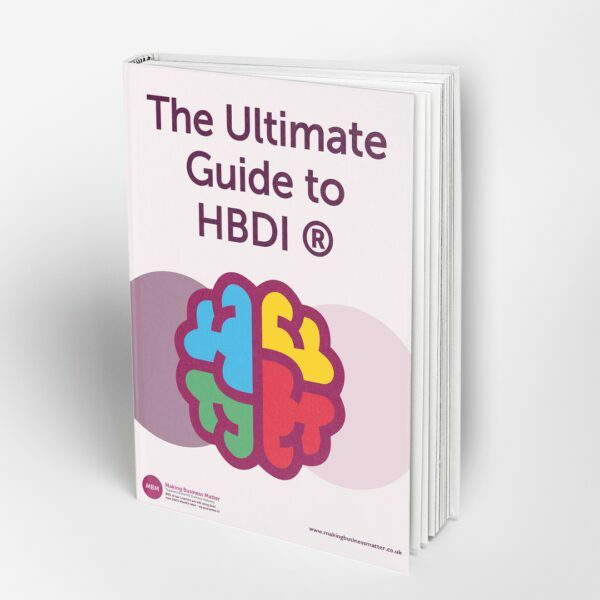 Front cover of the Ultimate Guide to HBDI