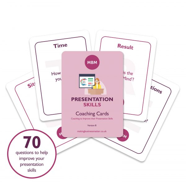 Presentation Skills Coaching Cards Image