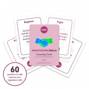 5 MBM Negotiation coaching cards