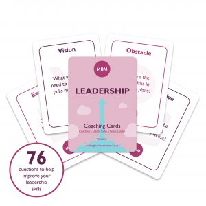 Five MBM leadership coaching cards