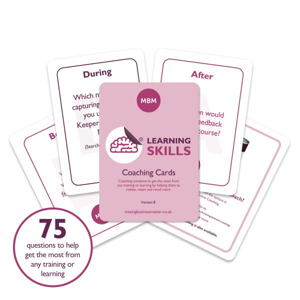 Learning Skills Coaching Cards Image