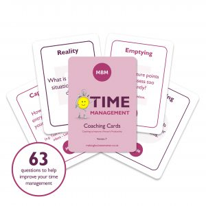 Five coaching cards by MBM