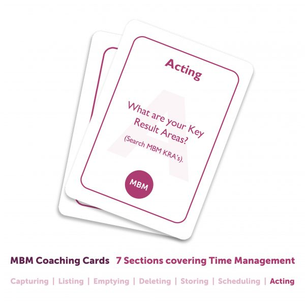 Time Management Coaching Cards Image
