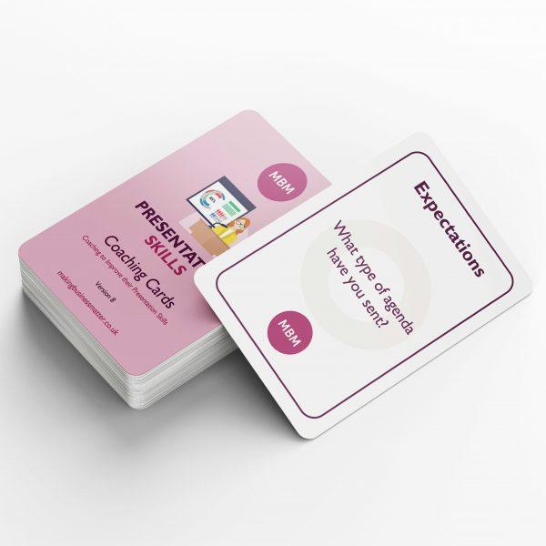 Presentation Skills Coaching Cards Image