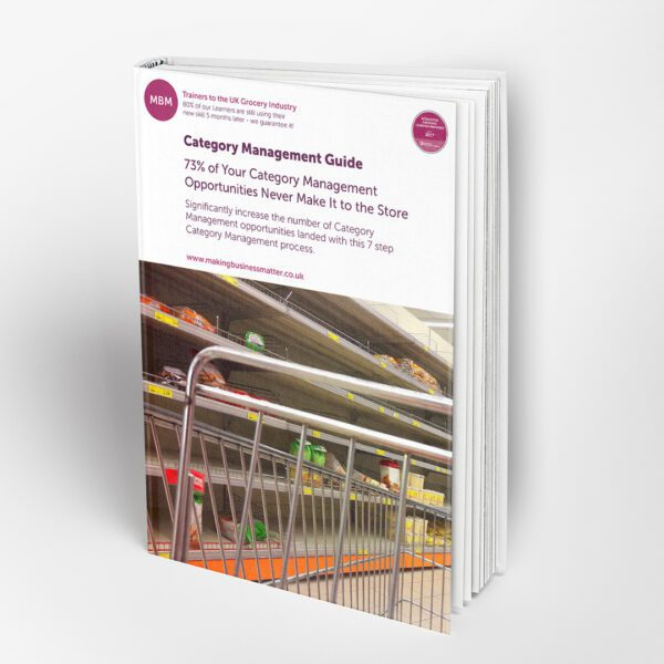 Front cover of MBM book on Category Management guide