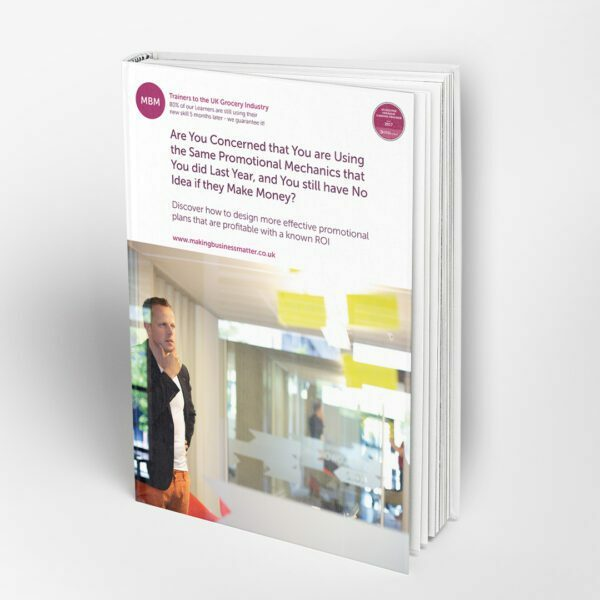 Front cover of MBM book on promotional mechanics
