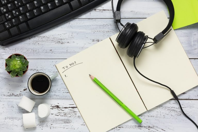 Writing to do list, improve time management