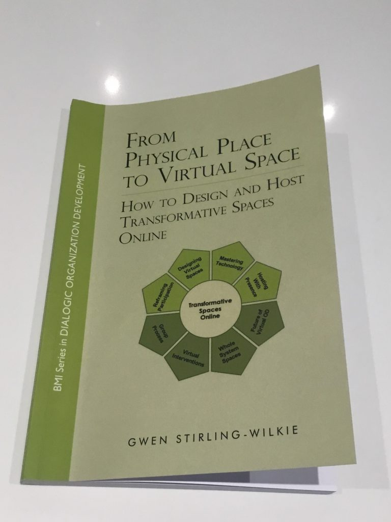 Front cover of Physical Space to Virtual Place book by Gwen Stirling-Wilkie