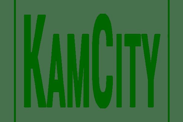 Kamcity in green in green box