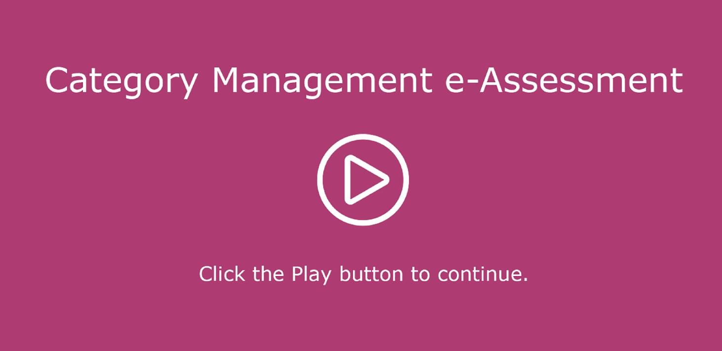 Category Management EAssessment Image