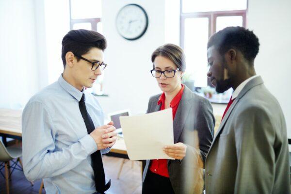 Negotiating at meeting