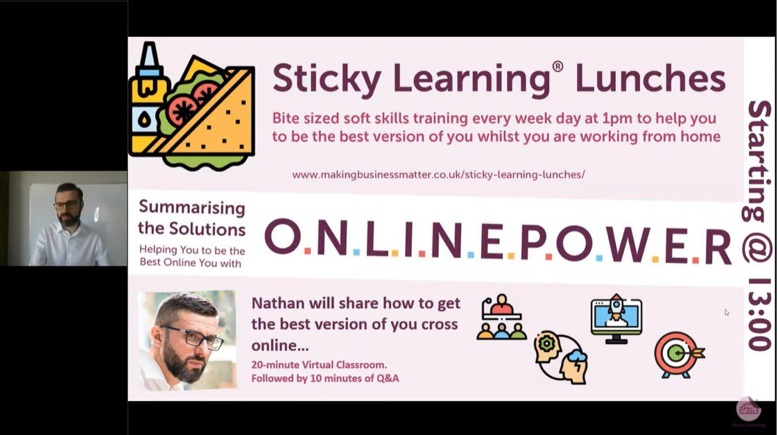 Screenshot of Part 1 Presentation Webinar Image