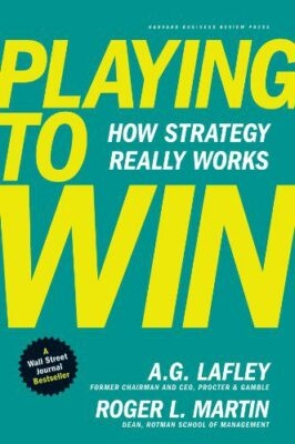 Playing to win book cover