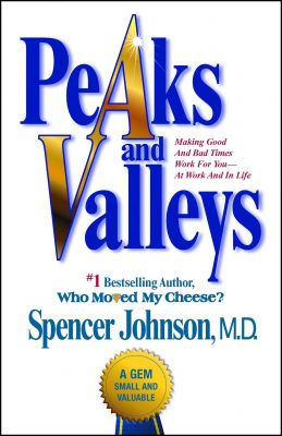 Front cover for Peaks and Valleys book