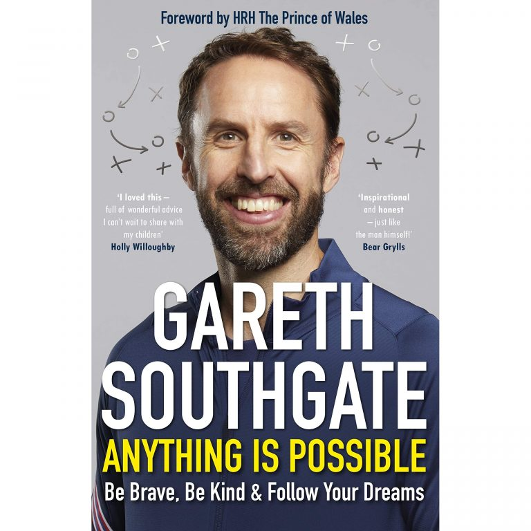 From cover of Anything is possible by Gareth Southgate