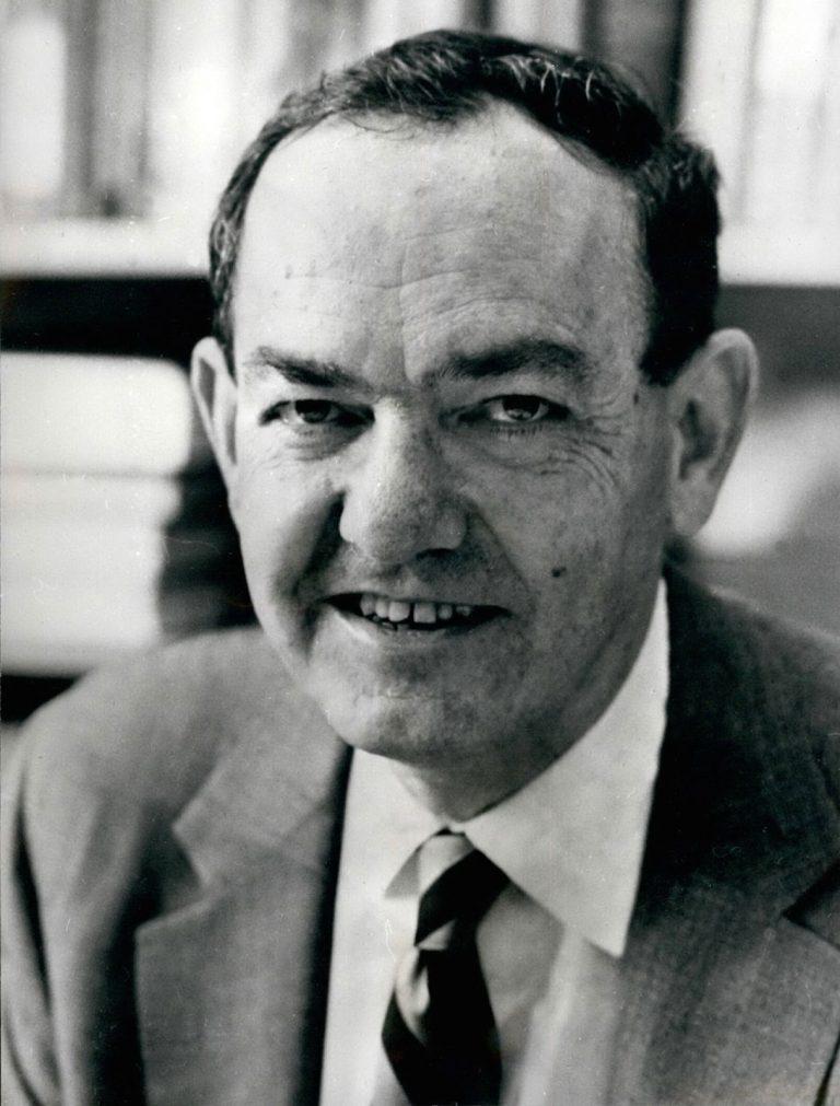 Black and white photo of Herbet Simon