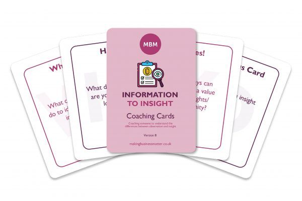Information to Insight Coaching Card Image