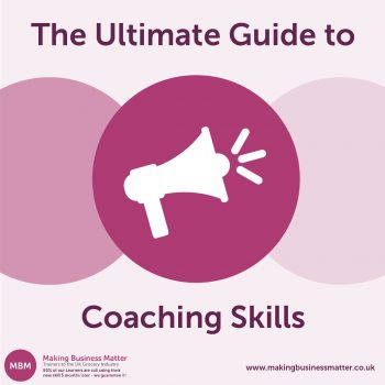 MBM graphic for coaching skills ultimate guide